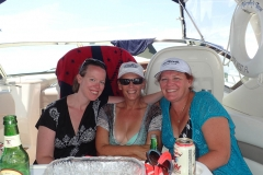 The Ladies hanging out on Murphys Law