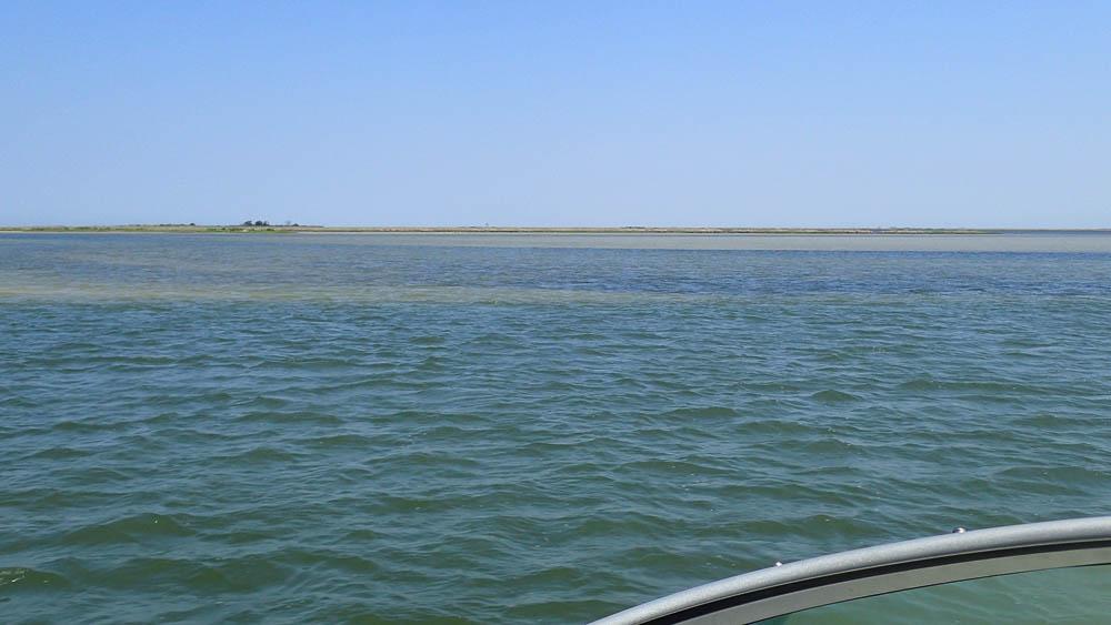Approaching Smith Island