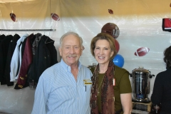 Carlton with former U.S. Presidential candidate, Carly Fiorina.
